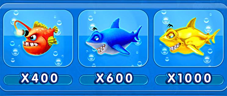 ปลาผู้นำ เกมยิงปลา จ้าวมหาสมุทร