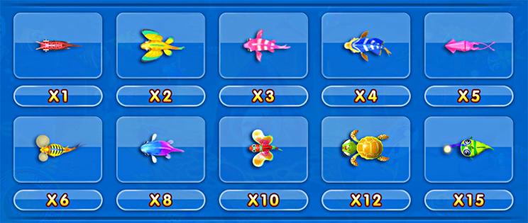 ปลาราคาต่ำ เกมยิงปลา จ้าวมหาสมุทร