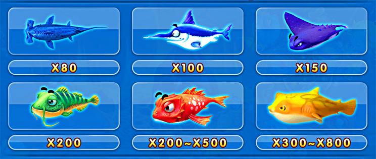 ปลาราคาสูง เกมยิงปลา จ้าวมหาสมุทร